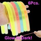6x Stretchy Monkey Noodle Fidget Sensory Toys Stress Relief String Neon Kids ⭐⭐⭐