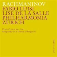 Rachmaninov:Piano Concertos [Lise de la Salle; Philharmonia Zürich, Fabio Luisi]