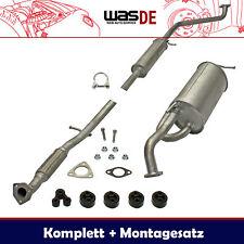 Komplette Auspuffanlage Auspuff Chevrolet Matiz 0.8-1.0 2005-2010 Schalldämpfer