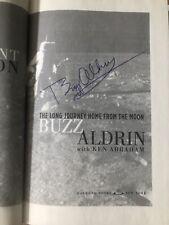 Buzz Aldrin signed book: Magnificent Desolation 1st Ed. Autograph Apollo 11 Xi