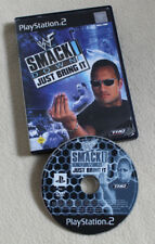 WWF SmackDown: Just Bring It (Sony PlayStation 2, 2001, DVD-Box)