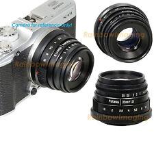 35mm f1.6 APS-C MC X Mount Lens Fujifilm Fuji X-T3 X-T2 X-T1 X-A10 XT30 XT20