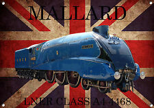 Mallard,Lner,Class A4,Train,Vintage,Classic, Metal Sign,Enamel,No.556