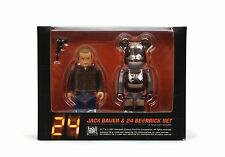 Medicom Toy Box Set Kubrick + Bearbrick 100% JACK BAUER 24 BE@RRICK Be@rbrick 24
