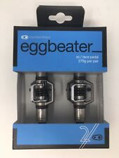 NEW IN BOX Crankbrothers Eggbeater 2 Steel Spindle MTB Pedals with Cleats