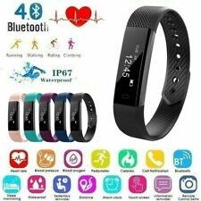 Bluetooth Smart Bracelet Watch Step Calorie Counter Tracker Pedometer Sport