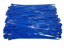 100 x BLUE Cable Ties 140mm x 3.6mm - Nylon Zip Ties