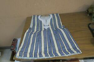Vintage Islamic Arabic Child Kaftan Abaya Woven Handmade Ethnic Clothing