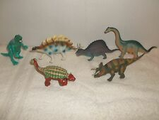 Dinosaurs Some Poseable Cake Topper Or Toy Figures