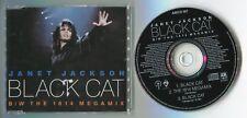 """Janet Jackson Maxi-CD GATO NEGRO 12"""" Mix b/w the 1814 megamix 1990 UK"""