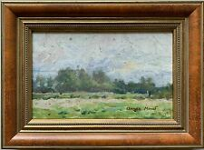 Claude Monet (1840-1926) SIGNED FRENCH IMPRESSIONIST LANDSCAPE OIL PAINTING