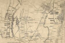 Avon Simsbury Tariffville CT 1869 Maps with Homeowners Names Shown