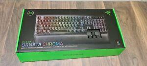 Razer Ornata Chroma Gaming Keyboard: Mecha-Membrane Key Switches - Customizable