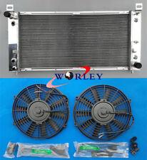 Aluminum radiator & fan for Chevrolet Silverado 1500 2500 3500 4.8L 5.3L 6.0L V8