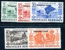 NOUVELLES HEBRIDES PORTO 1953 Yvert TT 26-30 * (F3843