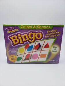 Colors & Shapes Bingo by Trend Enterprises