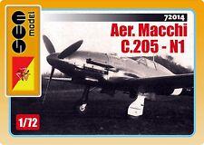 Aer. Macchi C.205N1 - Regia Aeronautica - 1/72 - Sem Model