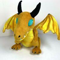 Blizzard - World of Warcraft Bronze Whelpling Plush RARE WOW Yellow Dragon