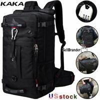 KAKA Travel 50L Men Women Multifunction 17.3 Laptop Backpack outdoor Luggage Bag