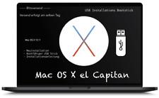 Mac OS X 10.11.6 El Capitan, Installation, Boot usb Stick, Betriebssystem, Apple