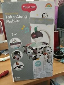 26609 Tiny Love Black and White Take-Along Mobile,�Baby Mobile with Music