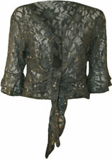 Altri maglie da donna grigi in pizzo