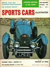 SPORTS CARS ILLUSTRATED Vol 1 Number 4 NOVEMBER 1957 * Superb Condition *