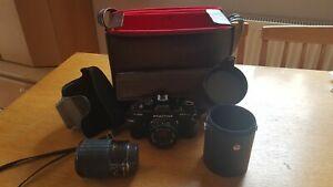analoge Spiegelreflexkamera, Praktica b100 electronic, sehr guter Zustand