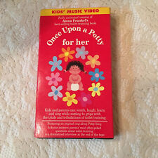 Once Upon a Potty - For Her  VHS  2001