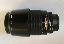 NIKON AF Zoom NIKKOR ED 70-300mm f/4-5.6 D Lens + Nikon HB15 hood L37c filter