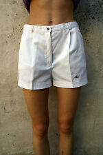Fila Tennis 80s Vintage White Casuals Shorts  Italy SUPER uk12 M L