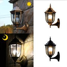 LED Outdoor Garden Fence Wall Lantern Light Lamp Traditional Hexagonal Lights