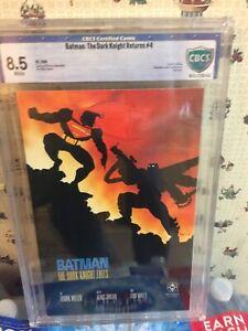 Batman The Dark Knight Returns #4 DC  1986 CBCS 8.5 WP..THE DARK KNIGHT FALLS