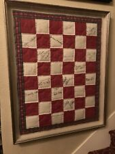 Liberace Signed Quilt A Month Before He Died. 23 Other Celebrities As Well