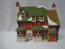 "Department 56 ""RUTH MARION SCOTCH WOOLENS"" Dickens Village Series 1989 Village"