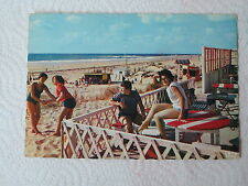 Carte postale CPM 33 Bassin d'arcachon cap ferret plage de l'océan voyagée 1974