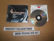 CD Pop Marusha - Ultimate Sound (3 Song) MCD MOTOR MUSIC + Presskit