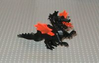 LEGO Minifigure Black Dragon Toy Castle Fantasy Knights Fire Monster Minifig