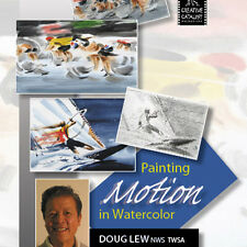NEW DVD: PAINTING MOTION IN WATERCOLOR Composition Movement Sketch Blur Emphasis