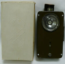 NEW MILITARY SURPLUS POCKET FLASHLIGHT SIGNAL NOS IN BOX