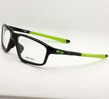 Sport A Crosslink Zero Eyeglass Rx Eyewear Frame Polished Black Ink OX8080-0258