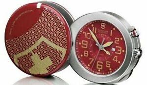 VICTORINOX SWISS ARMY TRAVEL ALARM CLOCK LIMITED EDITION - BRAND NEW - PERFECT!