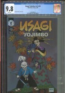USAGI YOJIMBO VOL. 3 No. 28 DARK HORSE (1999) BEST CGC GRADE NEAR MINT/MINT 9.8