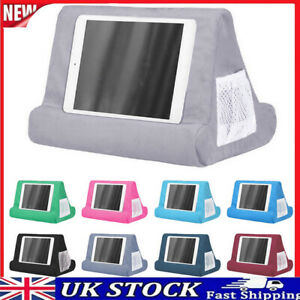 Tablet Stand Pillow Holder Book Reader Rest Lap Reading Cushion for Phone iPad-