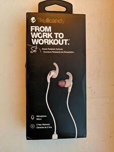 Skullcandy Set Unopened New in Box - Sweat-Resistant Earbuds - grey/red