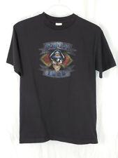 """Bon Jovi Skull """"1989"""" Reissue 2001 Short Sleeved Black T-Shirt Medium"""