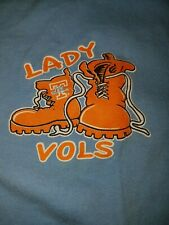 Tennessee Lady Volunteers Shirt XL Used Pat Summit graphics on front and back