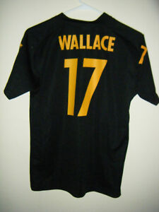 NFL Pittsburgh Steelers Jersey Shirt Mike Wallace #17 Youth Large L 14-16 Size