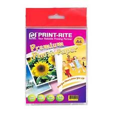 PRINT-RITE BRILLO A6 Inyección de Tinta Papel fotográfico 150gsm-20 hojas
