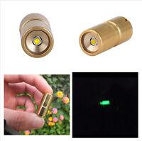 Brass 200LM DQG Fairy EDC R5 LED Mini Flashlight Torch+10180 Battery ❤